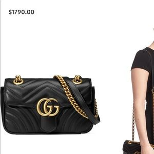 GG crossbody authentic bag